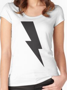 The Lightning Scar Women's Fitted Scoop T-Shirt