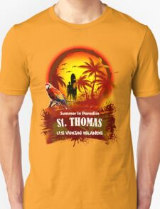 St. Thomas Summer Time T-Shirt
