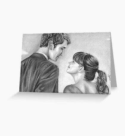 Love stare Greeting Card