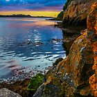 Sunset in Ballyshannon by Chris Dykes
