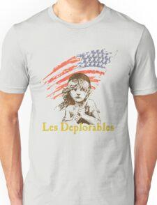 LES DEPLORABLES - White Unisex T-Shirt