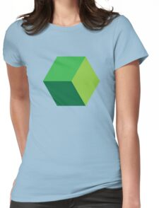 cube Womens Fitted T-Shirt