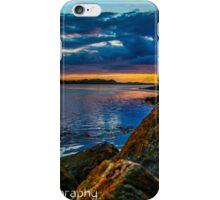 Sunset in Ballyshannon LS iPhone Case/Skin