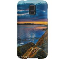 Sunset in Ballyshannon LS Samsung Galaxy Case/Skin