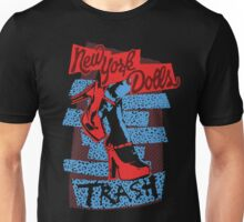 New York Dolls Trash Boots Unisex T-Shirt