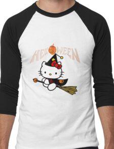 Kitty_Helloween Men's Baseball ¾ T-Shirt