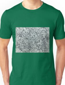 "The Artist Adamo ""RAW Coceptual Sharpie french curve 2014"" Unisex T-Shirt"