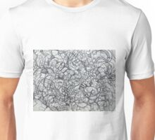 "The Artist Adamo ""RAW Coceptual Sharpie french curve 2014"" Unisex T-Shirt"