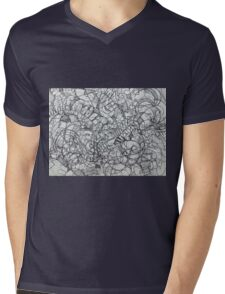"The Artist Adamo ""RAW Coceptual Sharpie french curve 2014"" Mens V-Neck T-Shirt"