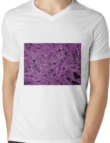 "The Artist Adamo ""Purple neon of raw conceptual sharpie"" 2016 Mens V-Neck T-Shirt"