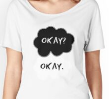 The Fault In Our Stars Clouds Women's Relaxed Fit T-Shirt