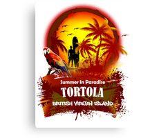 Tortola Summer Time Canvas Print