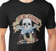 Texas Guns - Lucky Blue Unisex T-Shirt