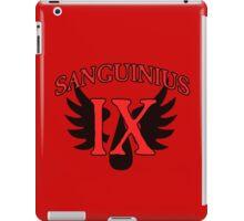 Sanguinius - Sport Jersey Style iPad Case/Skin