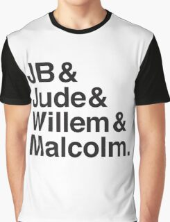 JB & Jude & Willem & Malcolm  Graphic T-Shirt