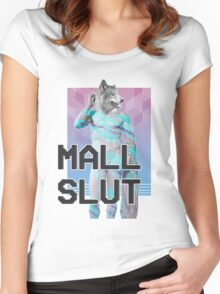 Mall LIFE: WOLF STYLE Women's Fitted Scoop T-Shirt