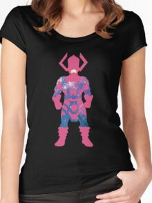 Galaxy: Galactus Women's Fitted Scoop T-Shirt