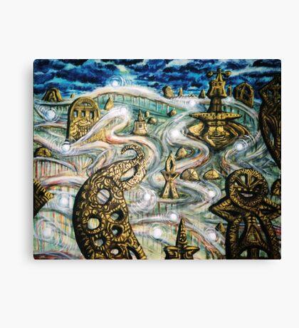 Monument transportation Canvas Print