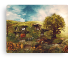 The Shire, My Dream Hobbit House Canvas Print
