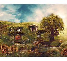 The Shire, My Dream Hobbit House Photographic Print