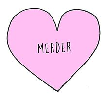 MEREDITH AND DEREK (MERDER) CANDY HEART Photographic Print