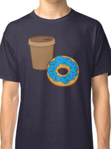 take away coffee cup and a donut (Doughnut) Classic T-Shirt