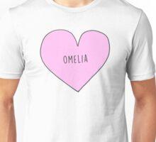 OWEN AND AMELIA (OMELIA) CANDY HEART Unisex T-Shirt
