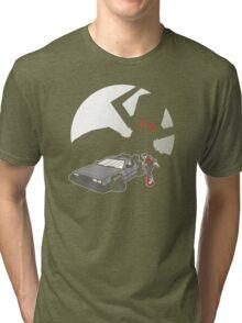 Flight of the Delorean Tri-blend T-Shirt