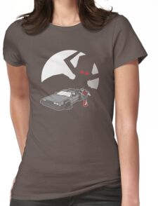 Flight of the Delorean Womens Fitted T-Shirt