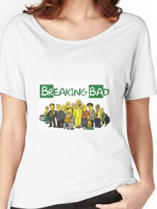 The Simpsons ( Breaking bad) Women's Relaxed Fit T-Shirt