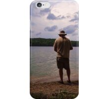 The Lone Fisherman iPhone Case/Skin