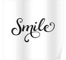 Word Smile People  Poster