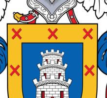Aranda Coat of Arms (Spanish) Sticker