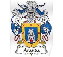 Aranda Coat of Arms (Spanish) Poster
