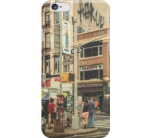 CANAL vs. BROADWAY iPhone Case/Skin