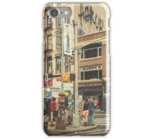 CANAL vs. BROADWAY iPhone Case/Skin