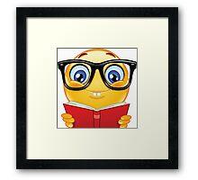 Smart Emoji  Framed Print
