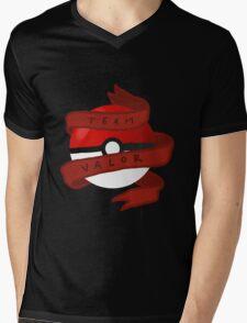 Valor Pokeball Mens V-Neck T-Shirt