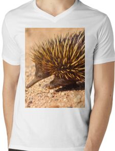 Echidna Mens V-Neck T-Shirt