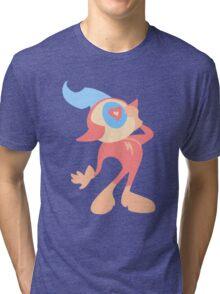 Commander Peepers Tri-blend T-Shirt