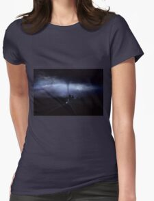 Road to Destruction Womens Fitted T-Shirt