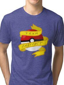 Instinct Pokeball Tri-blend T-Shirt