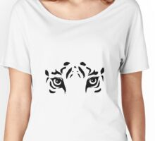 Tiger Eyes Women's Relaxed Fit T-Shirt