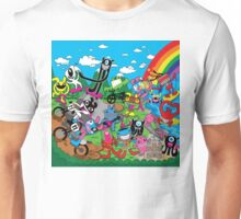Welcome to Skate, Surf, Ride, Music, positive Vibes Unisex T-Shirt