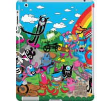 Welcome to Skate, Surf, Ride, Music, positive Vibes iPad Case/Skin