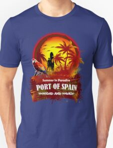 Port Of Spain Exoctic Summer Time  T-Shirt