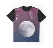 Moon Ombre Graphic T-Shirt
