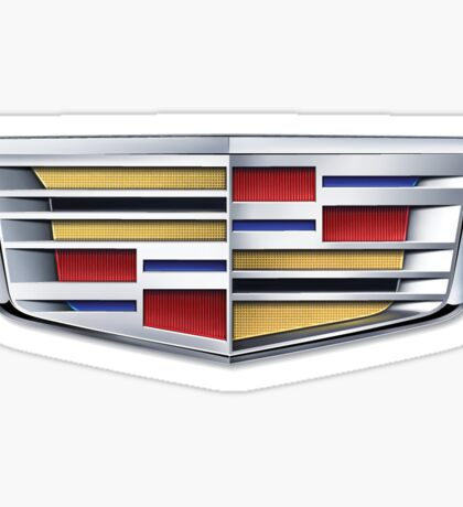 cadillac logo Sticker