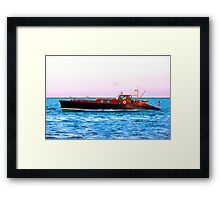 Returning To Watch Hill Framed Print