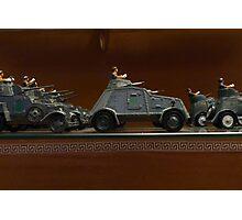 Spanish military models Photographic Print